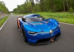 Beautiful Renault Alpine A110-50 concept sports car