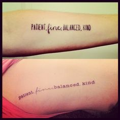 New matching tattoos with my sister (mine is the top, on my left inner forearm) #boniver #tattoo #ink