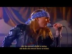 Guns N Roses-Sweet Child O Mine(Long Full Version with Lyrics)- 1988 (The year I graduated from high school). A fav.