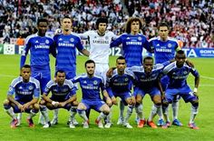 Equipos de fútbol: CHELSEA Campeón de Europa 2012