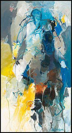 Bernadette Leijdekkers | Dieren (diy abstract art people)