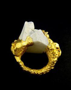 Porcelain Jewellery / Imogen Belfield ring
