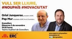 Politica Totcat: 9N: ACTE DE ERC A GRANOLLERS EL 5 DE NOVEMBRE AMB ...