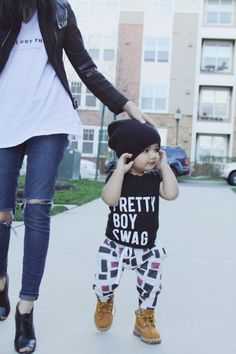 Baby boy style. Mom Style. boy style. kid style. hipster kid. - Lot801