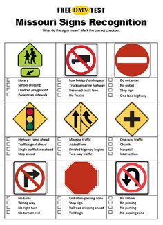 Traffic Signs To Remember For Your Driver's License Test