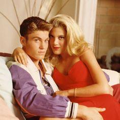 Fantasia de Halloween: Donna e David de 'Beverly Hills 90210'