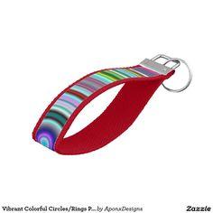 Vibrant Colorful Circles/Rings Pattern