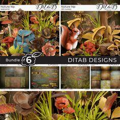 Nature 3d, All Paper, Word Art, Light In The Dark, Overlays, Berries, Floral, Digital Scrapbooking, Design