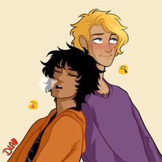 will is trying so hard not to laugh at nico | art by cindersart