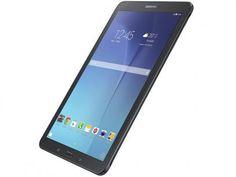 """Tablet Samsung Galaxy Tab E 8GB 9,6"""" 3G Wi-Fi - Android 4.4 Proc. Quad Core Câm. 5MP + Frontal com as melhores condições você encontra no Magazine 01franklyn. Confira!"""