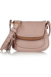 Tom FordJennifer mini textured-leather shoulder bag