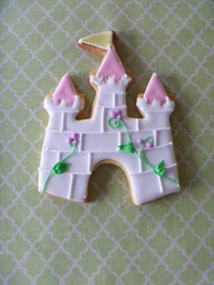 castle cookie--for your little prince or princess...or the princess in you!