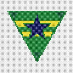 #browncoats badge cross stitch pattern/kit from the UK