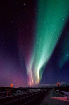 Northern Lights, Aurora Borealis, near Narvik