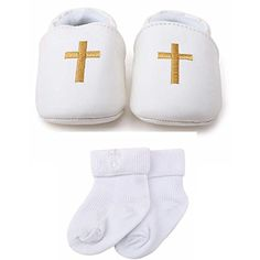 Delebao Baby Boy Girl Infant Pu Leather Christening Baptism Shoes Prewalker Slippers 612 Months Shoes  Socks >>> You can get additional details at the image link.-It is an affiliate link to Amazon. #BabyShoes