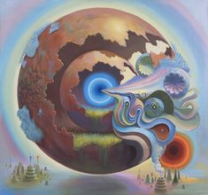 ultraviolet dreams - Mario Martinez (aka Mars-1) Paintings >>> Microcosms Of Mental and Material Realms