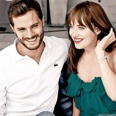 New colored photo #JamieDornan #DakotaJohnson