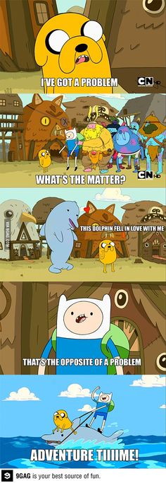 Only on Adventure Time