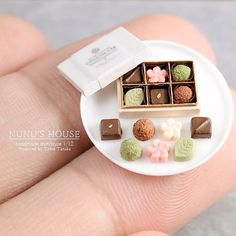 Dolls House Box of Rocher Chocolates Miniature 1:12 Scale Shop Food Accessory