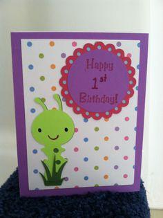 Kid birthday card