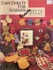 Easy_does_it_for_summer_-_Art_to_heart - Airelai 1 - Picasa Web Album Summer Quilts, Fall Quilts, Summer Books, Summer Art, Butterfly Table, Magazine Crafts, Shabby Fabrics, Painted Books, Book Quilt