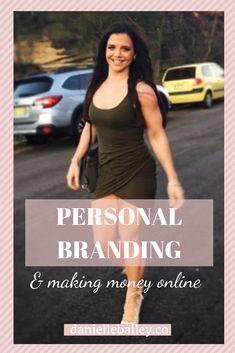 Personal Branding & making money online % Danielle Bailey Bailey Co, Make Money Online, How To Make Money, Tips & Tricks, Personal Branding, Online Business, Health And Wellness, Social Media, Posts