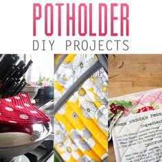 Potholder DIY Projects - The Cottage Market