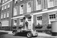 The Prisoner's home in London: 1 Buckingham Place.