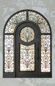 Window grille pictures to pin on pinterest - Porte D Entr 233 E Exterieur En Fer Forg 233 Facade Pinterest