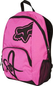 New Fox Racing S Womens Road Trip Backpack School Bag Napsack Day Glo Pink Ebay I Want Clothing