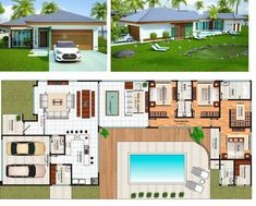plantas-casas-com-3-quartos-piscina