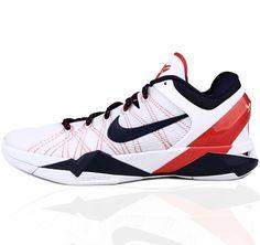 9ca504fe8c50 Nike Kobe VII 7 Usa Olympic Basketball Shoes H21