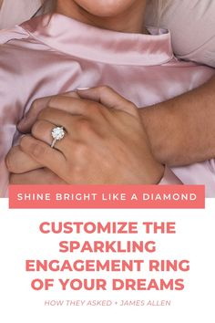 Ready to create your dream engagement ring? 💍 JamesAllen.com allows you to customize your diamond ring online using state-of-the-art diamond-viewing technology! #ad Unique Diamond Engagement Rings, Dream Engagement Rings, Engagement Ring Settings, Rings Online, Dreaming Of You, Diamonds, Technology, Create, Amazing