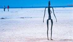 The eerie sculptures on Lake Ballard in outback WA, photographed superbly by Graeme Hird, www.scenebyhird.com.au