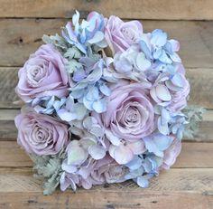Wedding Bouquet Silk Bridal Bouquet Wedding  by Hollysflowershoppe