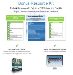 [Extraordinary PLR] Lyme Disease Defense PLR Review - Full Product PLR Funnel You Brand, Sell & Keep 100% of the Profits.