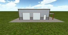 3D #architecture via @themuellerinc http://ift.tt/29JdoVK #barn #workshop #greenhouse #garage #DIY