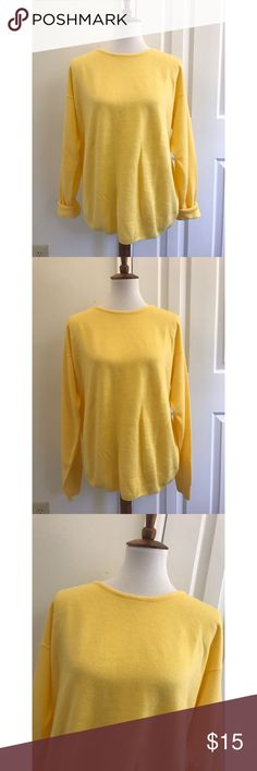 100% cashmere sweater - Size L - I don't trade or sell outside of posh. - I ship every single day!  - All items come from a smoke free home!  - If you have anymore questions just let me know and I would be happy to help! 🙂 Nordstrom Sweaters Crew & Scoop Necks