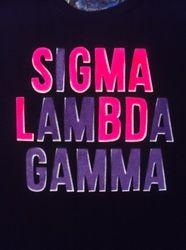 Sigma Lambda Gamma - Greek Dripped Custom Apparel