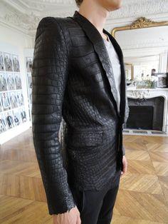 Balmain Homme S/S 2012 - Croco Blazer