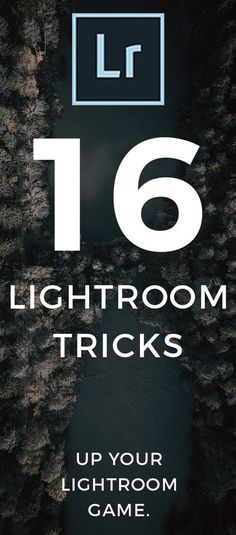16 Lightroom Tricks You NEED TO KNOW! 16 unreal lightroom tips and free lightroom tricks to learn the best workflow for editing in adobe lightroom. http://signatureedits.com/lightroom-tutorials/16-lightroom-tricks