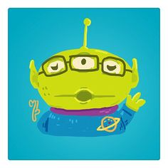 The 3 eyed alien from toy story  / by tArnmarin