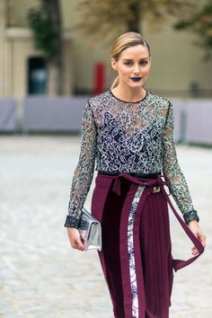 Over 100+ fall outfit ideas to take from the best street style at Paris Fashion Week: Olivia Palermo