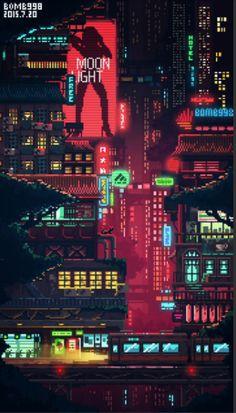 City, yes yes yes – Cyberpunk Gallery Cyberpunk City, Ville Cyberpunk, Cyberpunk Aesthetic, Cyberpunk 2077, Cyberpunk Tattoo, Cyberpunk Fashion, Pixel City, Pixel Art Background, City Background