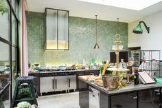 Leuke keuken wandtegels tot plafond
