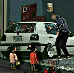Gti Vr6, Golf Mk3, Mustang, Volkswagen, Cars, Walking, Ideas, Wallpaper Ideas, Modified Cars