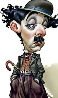 Print – Caricature of Charlie Chaplin (Picture Poster Comedy Mime Artist Art) Mime Artist, Caricature Artist, Caricature Drawing, Charlie Chaplin, Funny Caricatures, Celebrity Caricatures, Cartoon Kunst, Cartoon Art, Cartoon Faces