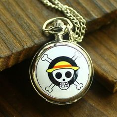 The enamel One Piece pocket watches