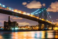 Williamsburg Bridge, New York City, New York, America by Joe Daniel Price on 500px