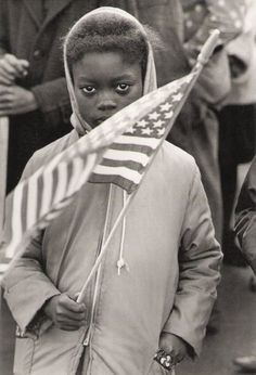"""Declan Haun - Black child at Civil Rights protest march, North Carolina, 1961 """" Black History Facts, Black History Month, Historia Universal, Civil Rights Movement, African American History, Thing 1, Black People, Black Is Beautiful, Belle Photo"""